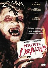 "NIGHT OF THE DEMONS(1987)LBX ""BRAND NEW DVD"" ANCHOR BAY RELEASE ""2004"""