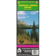 Thompson and Cariboo (Travel Reference Map) [Aug 01, 2000]