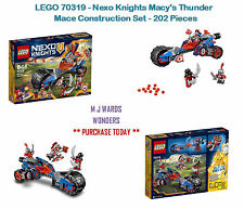 LEGO 70319 - Nexo Knights Macy's Thunder Mace Construction Set - 202 Pieces