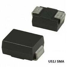100PCS US1J SMA DIODE ULTRA FAST RECOVERY 1A 600V RECTIFIER DIODE