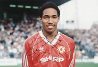 PAUL INCE Signed 12x8 Photo MANCHESTER UTD & ENGLAND Legend COA
