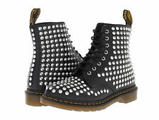 Dr. Martens Women's 1460 Spike All Stud Boot Black US 7 EU 38 UK 5 Ret. $350!!!