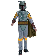 "Star Wars Kids Boba Fett Costume, Style 1, Med, Age 5 - 7, HEIGHT 4' 2"" - 4' 6"""