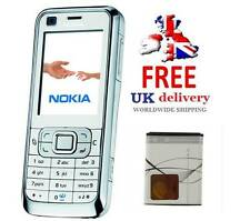 New Condition Nokia 6120 classic - White (Unlocked) 3G Smartphone Front Back cam