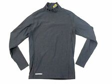 Mens UNDER ARMOUR Gray Cold Gear Long Sleeve Compression Shirt Sz XL NEW NWT