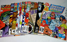 JUSTICE LEAGUE EUROPE - FIFTEEN COMICS 01 TO 42 RANGE - HIS GRADE AND CHEAP