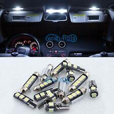 12PCS White Canbus Interior LED Light Package Kit For 03-09 VW MK5 MKV GOLF GTI