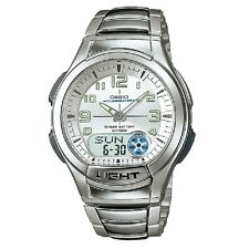 Casio AQ-180WD-7BV Stainless Steel White Digital Analog Sports Watch With Box