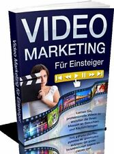 ✰ WEB PROJEKT VIDEO MARKETING eBook Deutsch E-LIZENZ Youtube VIDEOMARKETING GEIL