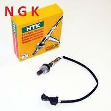 NGK 6384 FRONT + REAR LAMBDA SENSOR OZA571-C2 FOR CHRYSLER + JEEP