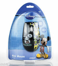 Disney Mickey PC Optical Computer Mini Mouse Cartoon Strip USB DSY-MM201 NEW