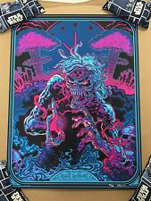Iron Maiden - 2 Minutes To Midnight Screen Print Poster by Yeti 80/250