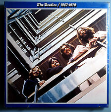 THE BEATLES 1967-1970 (BLUE ALBUM)~VERY RARE SEALED '73 CAPITOL LP w/STICKER