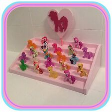 COLLEZIONE My Little Pony/Borsa Cieco/Mini figura Display Stand fatto a mano