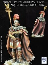 Alexandros Models 54mm Roman General Lucius Firmus White Metal Kit #SPQR/50