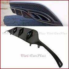 Carbon Fiber Rear Diffuser For BENZ 2015+ W205 C250 C300 Sport Sedan AMG Bumper