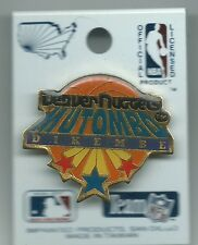 NBA Denver Nuggets Dikembe Mutombo Pin Stamped Imprinted Products 1991
