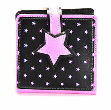 Star Punk Bi-Fold Wallet Gothic Rockabilly Glam