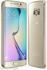 "Samsung Galaxy S6 edge SM-G9250 Gold (FACTORY UNLOCKED) 5.1"" QHD , 32GB ,3GB RAM"