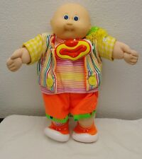 Cabbage Patch Kids Doll Bald Clown Blue Eyes With Clown Suit