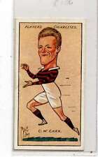 (Jn217-100)Players,Football Caricatures By MAC,C.W.Carr,1927 #39