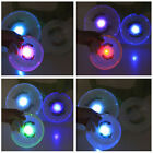 LED Light Up Multi Color Flying Disk Outdoor Toys Camping Stable Frisbee Kids