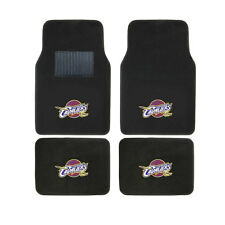 New 4pcs NBA Cleveland Cavaliers Car Truck Front Rear Carpet Floor Mats Set