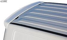 RDX Heckspoiler VW T5 (auch Facelift) Flügeltürer Heck Dach Dachkanten Spoiler