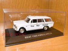 SEAT 1500 CRUZ ROJA SPAIN AMBULANCE AMBULANCIA 1:43