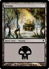20x*Basic Land*Swamp*Zendikar*NM/SP*x20*#240a*Magic the Gathering MTG*FTG