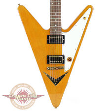 2007 Gibson Guitar of the Week 29 Reverse Flying V Trans Amber Rare Limited Run