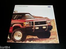 1989 Ford Ranger pickup truck S XLT STX Custom sales brochure dealer literature