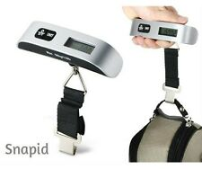 Portable Electronic Digital Travel Luggage Scale 50kg with Strap and LCD Light
