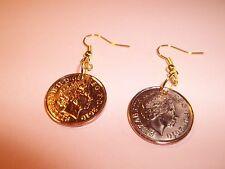 Aniversario Penny Moneda pendientes de 2008 - 2016 elige tu año