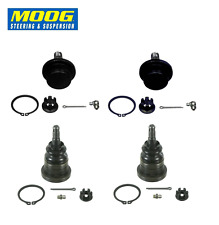 Moog Front Upper & Lower Ball Joints Fits Sierra Silverado Escalade Avalanche