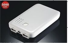 5000mAh LCD Backup Power Bank External Battery+Wall Charger +Cable for iPhone 5