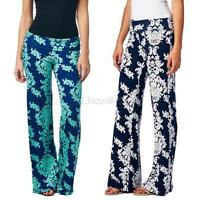 Vintage Women Lady Yoga Stretch Harem Pants Casual Loose High Waist Trousers A47