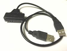 "2.5"" USB 2.0 a SATA Cavo Serial ATA Adattatore per HDD/SSD Hard Drive Laptop PC"