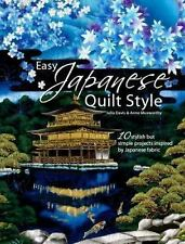 Easy Japanese Quilt Style, Julia Davis, Anne Muxworthy, Good Book