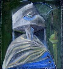 Tristan FABRIS (1927 -1989) Portrait Surréaliste Le Cyclope Théâtre