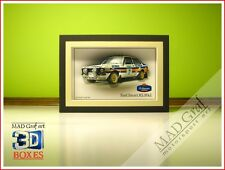 Ford Escort RS Mk2 rally Rothmans Team Vatanen art box 3D effect MAD Graf art