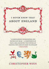 I Never Knew That About England,ACCEPTABLE Book