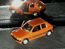 PEUGEOT 205 GTI 1988 SOLIDO rouge