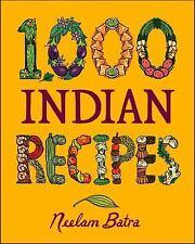 1,000 Indian Recipes (1,000 Recipes), Neelam Batra, Good Book