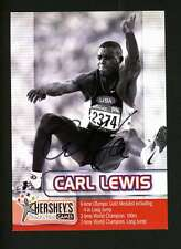 CARL LEWIS HERSHEY TRACK AND FIELD PROMO SHEET AUTOGRAPH AUTO SIGNATURE AU9582