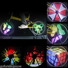 DIY Programmable bike bicycle wheel 96RGB Colorful monkey Spoke LED Light