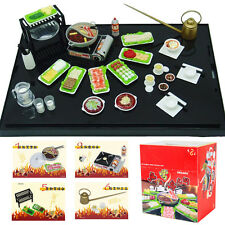 ORCARA Set of 8 Miniature Dollhouse Chinese Fondue Hotpot Toy Re-ment Xmas Gift