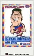 2007 AFL Teamcoach Trading Card Star Wild SW2 Simon Black (Brisbane)