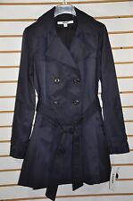 NWT Women's DKNY Double Breasted Trench Coat with Detachable Hood. Sz.S, $200.
