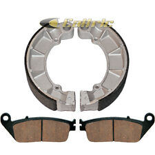 FRONT BRAKE PADS REAR BRAKE SHOES Fits Honda VT750C SHADOW ACE 750 DELUXE 02 03